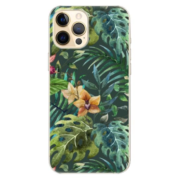 Plastové pouzdro iSaprio - Tropical Green 02 - iPhone 12 Pro