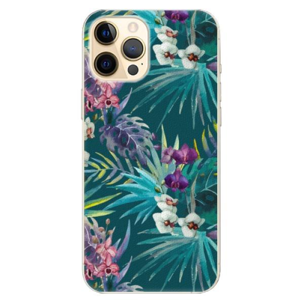 Plastové pouzdro iSaprio - Tropical Blue 01 - iPhone 12 Pro