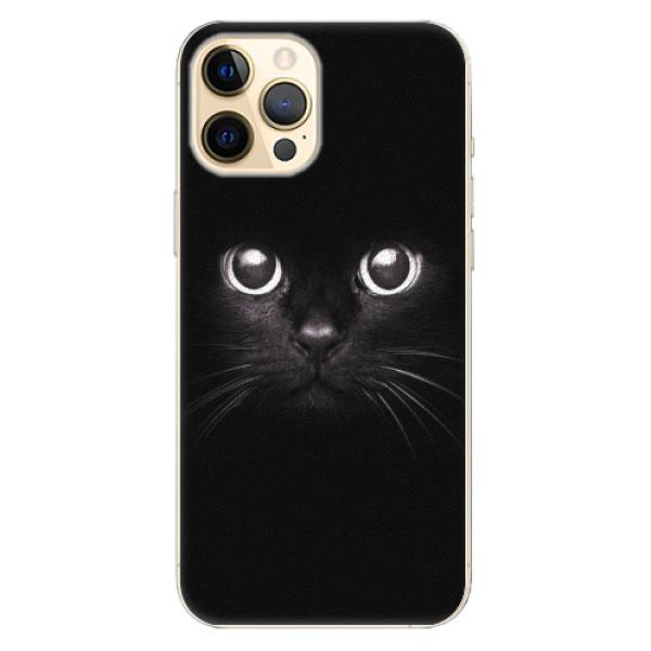 Plastové pouzdro iSaprio - Black Cat - iPhone 12 Pro