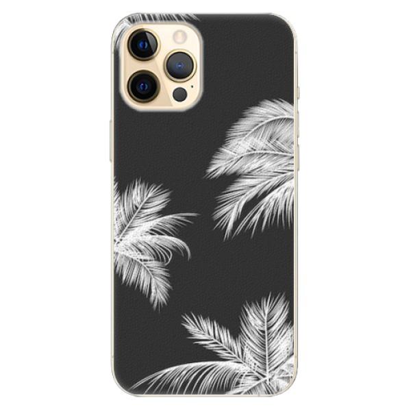 Plastové pouzdro iSaprio - White Palm - iPhone 12 Pro