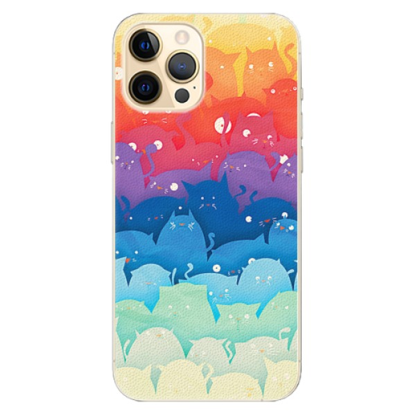 Plastové pouzdro iSaprio - Cats World - iPhone 12 Pro