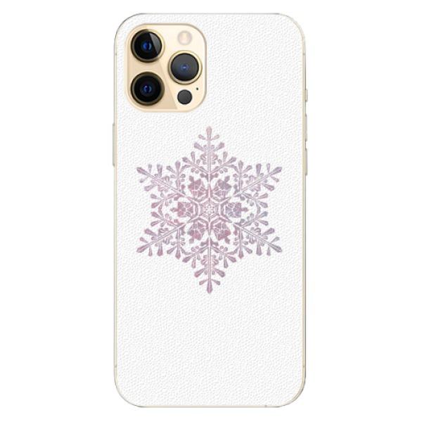 Plastové pouzdro iSaprio - Snow Flake - iPhone 12 Pro