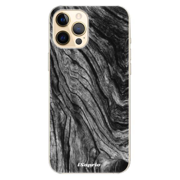 Plastové pouzdro iSaprio - Burned Wood - iPhone 12 Pro