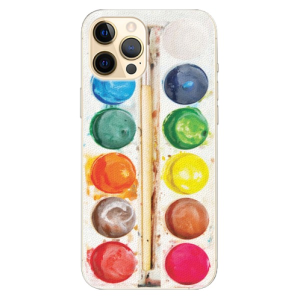 Plastové pouzdro iSaprio - Watercolors - iPhone 12 Pro
