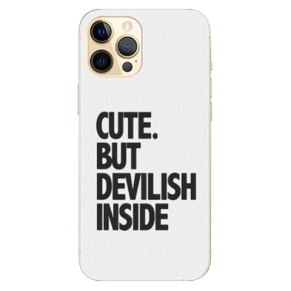 Plastové pouzdro iSaprio - Devilish inside - iPhone 12 Pro