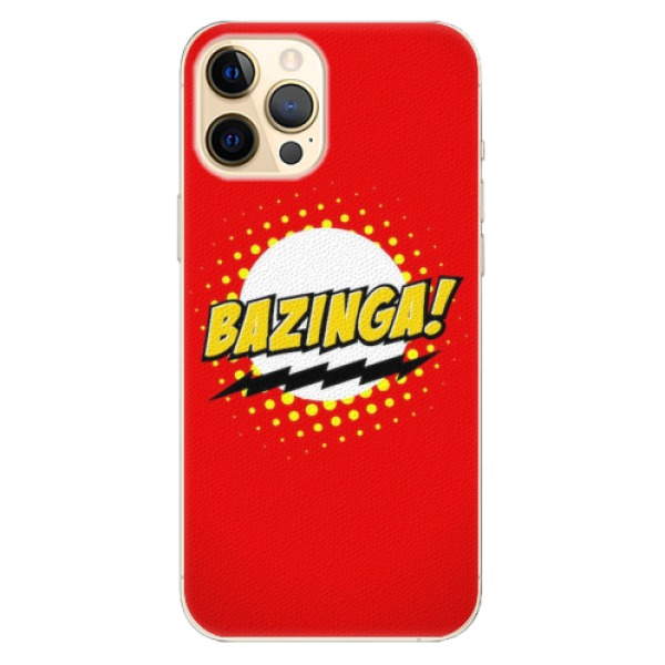 Plastové pouzdro iSaprio - Bazinga 01 - iPhone 12 Pro Max