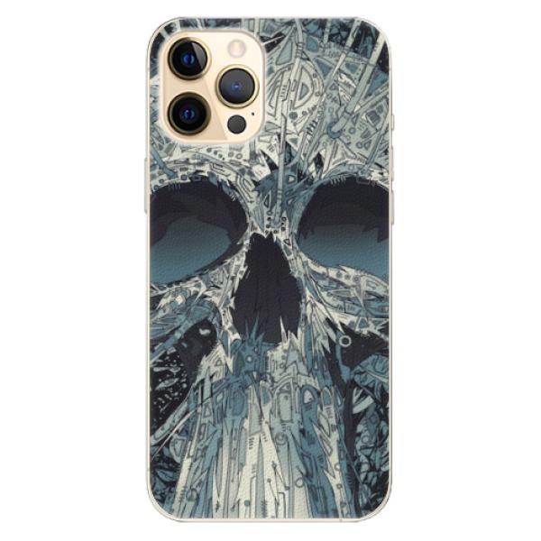 Plastové pouzdro iSaprio - Abstract Skull - iPhone 12 Pro Max