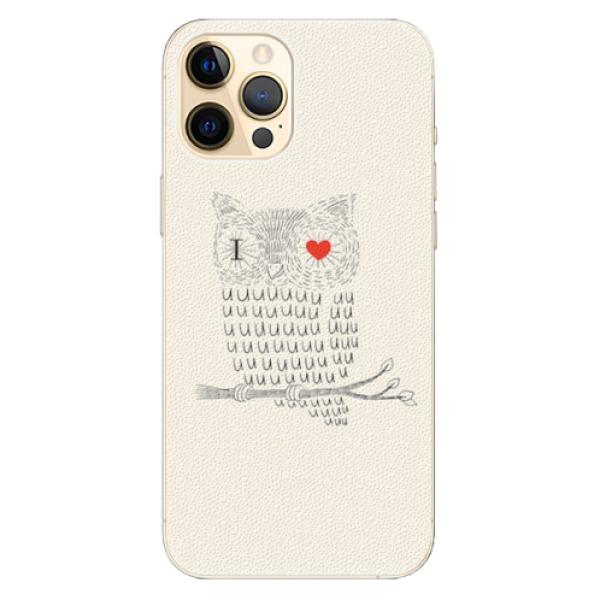 Plastové pouzdro iSaprio - I Love You 01 - iPhone 12 Pro Max