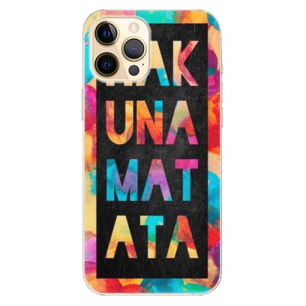Plastové pouzdro iSaprio - Hakuna Matata 01 - iPhone 12 Pro Max