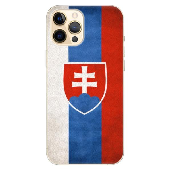 Plastové pouzdro iSaprio - Slovakia Flag - iPhone 12 Pro Max