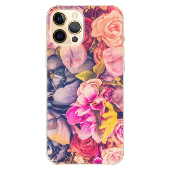 Plastové pouzdro iSaprio - Beauty Flowers - iPhone 12 Pro Max