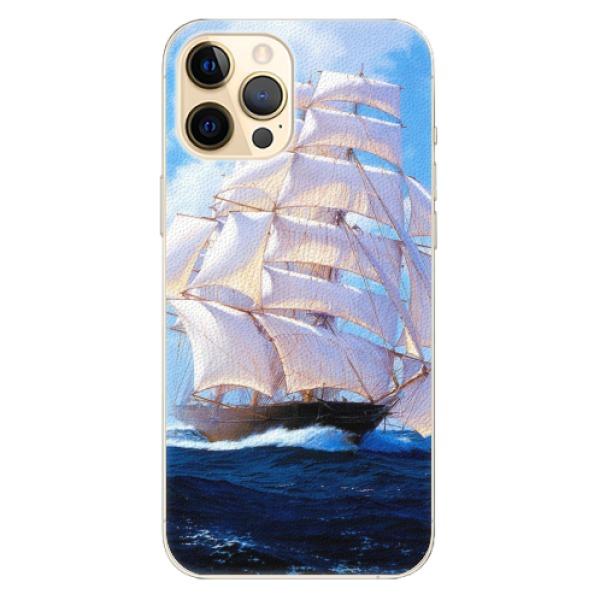 Plastové pouzdro iSaprio - Sailing Boat - iPhone 12 Pro Max
