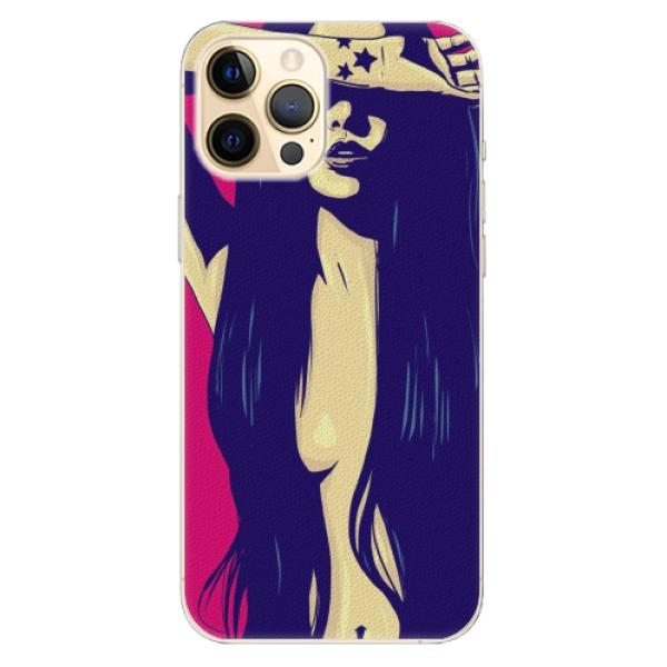 Plastové pouzdro iSaprio - Cartoon Girl - iPhone 12 Pro Max
