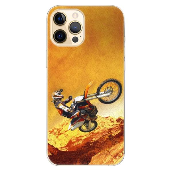 Plastové pouzdro iSaprio - Motocross - iPhone 12 Pro Max