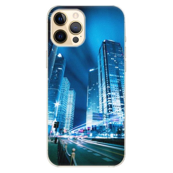 Plastové pouzdro iSaprio - Night City Blue - iPhone 12 Pro Max