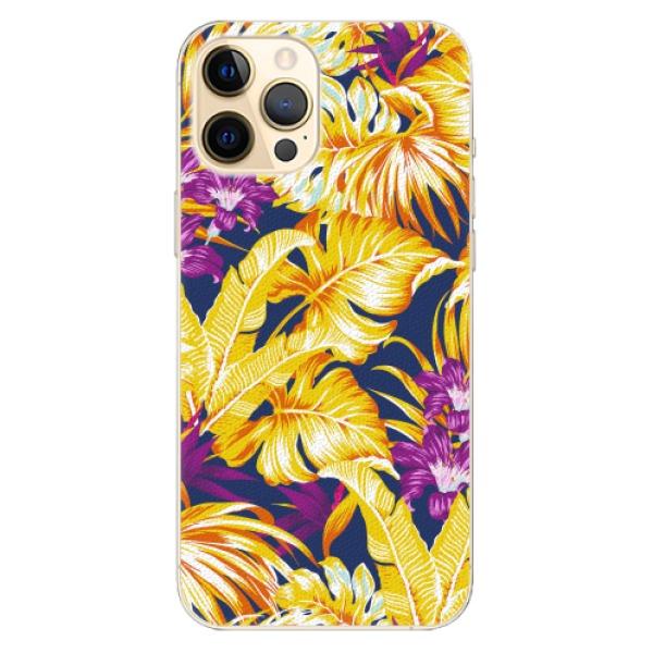 Plastové pouzdro iSaprio - Tropical Orange 04 - iPhone 12 Pro Max