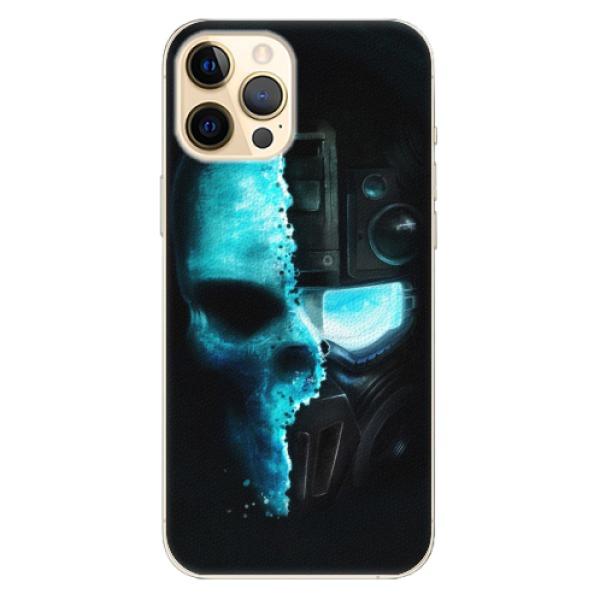 Plastové pouzdro iSaprio - Roboskull - iPhone 12 Pro Max