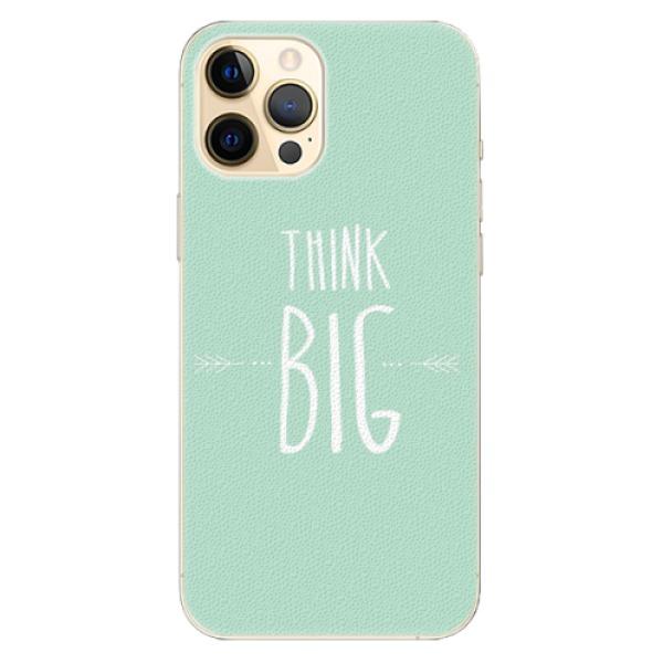 Plastové pouzdro iSaprio - Think Big - iPhone 12 Pro Max