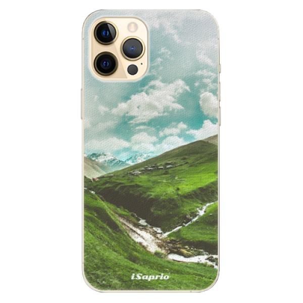Plastové pouzdro iSaprio - Green Valley - iPhone 12 Pro Max