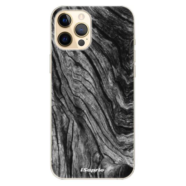 Plastové pouzdro iSaprio - Burned Wood - iPhone 12 Pro Max
