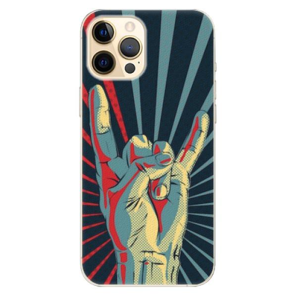 Plastové pouzdro iSaprio - Rock - iPhone 12 Pro Max