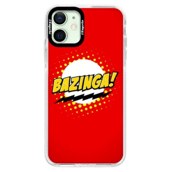 Silikonové pouzdro Bumper iSaprio - Bazinga 01 - iPhone 12 mini