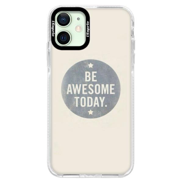 Silikonové pouzdro Bumper iSaprio - Awesome 02 - iPhone 12 mini