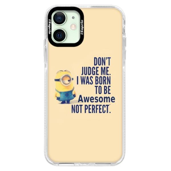 Silikonové pouzdro Bumper iSaprio - Be Awesome - iPhone 12 mini