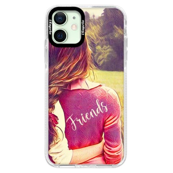 Silikonové pouzdro Bumper iSaprio - BF Friends - iPhone 12 mini