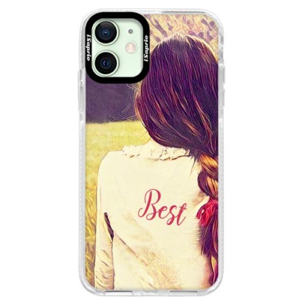 Silikonové pouzdro Bumper iSaprio - BF Best - iPhone 12 mini