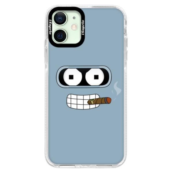 Silikonové pouzdro Bumper iSaprio - Bender - iPhone 12 mini