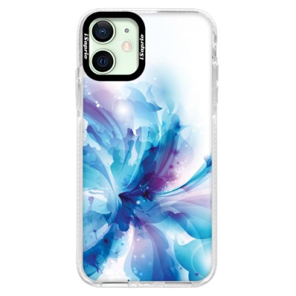 Silikonové pouzdro Bumper iSaprio - Abstract Flower - iPhone 12 mini