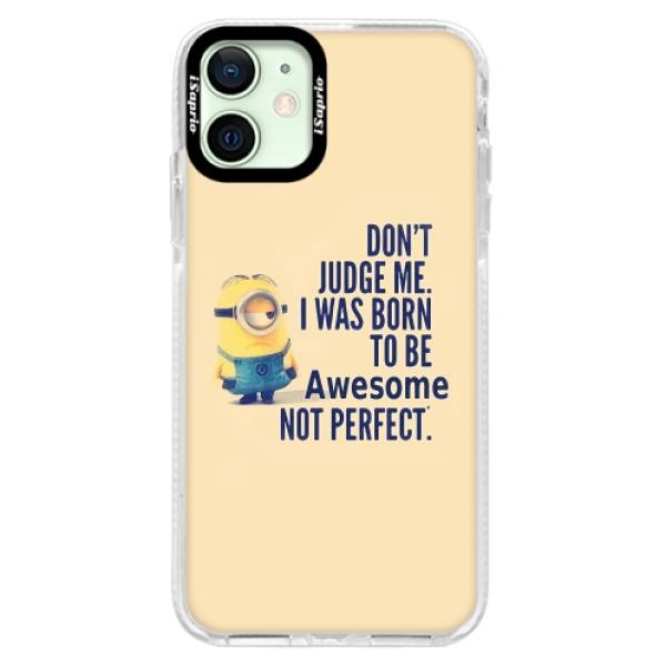 Silikonové pouzdro Bumper iSaprio - Be Awesome - iPhone 12