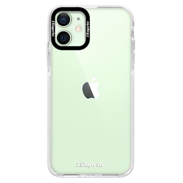 Silikonové pouzdro Bumper iSaprio - 4Pure - mléčný bez potisku - iPhone 12