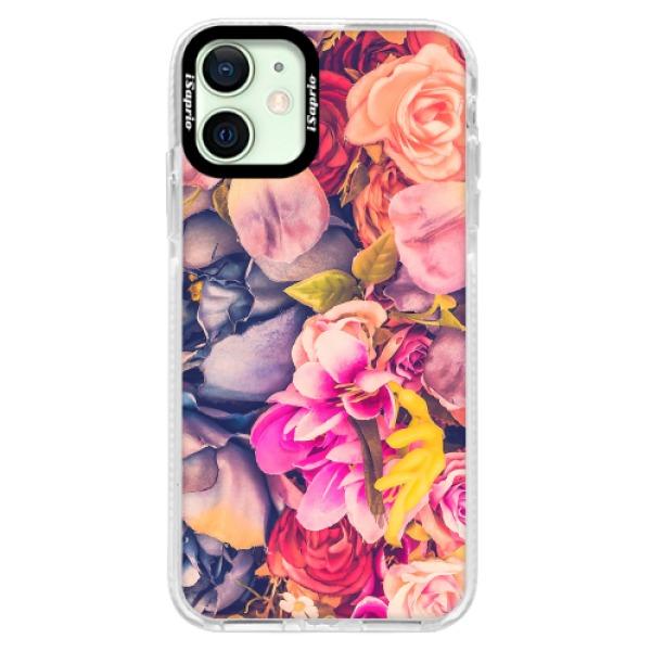 Silikonové pouzdro Bumper iSaprio - Beauty Flowers - iPhone 12