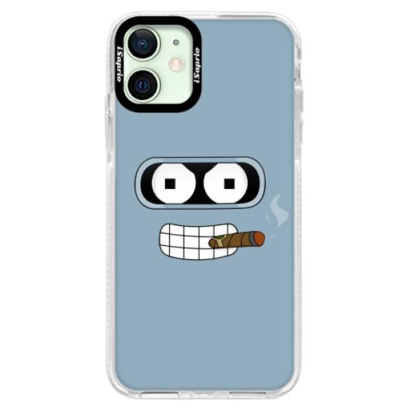 Silikonové pouzdro Bumper iSaprio - Bender - iPhone 12
