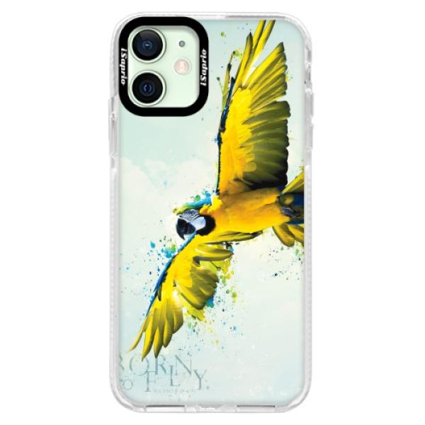 Silikonové pouzdro Bumper iSaprio - Born to Fly - iPhone 12