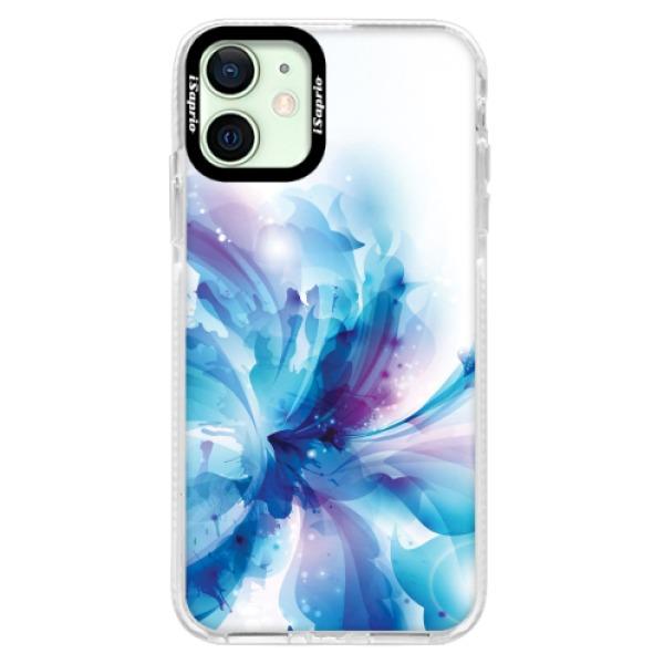 Silikonové pouzdro Bumper iSaprio - Abstract Flower - iPhone 12
