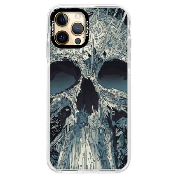 Silikonové pouzdro Bumper iSaprio - Abstract Skull - iPhone 12 Pro