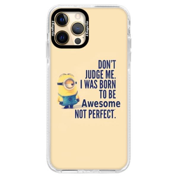 Silikonové pouzdro Bumper iSaprio - Be Awesome - iPhone 12 Pro