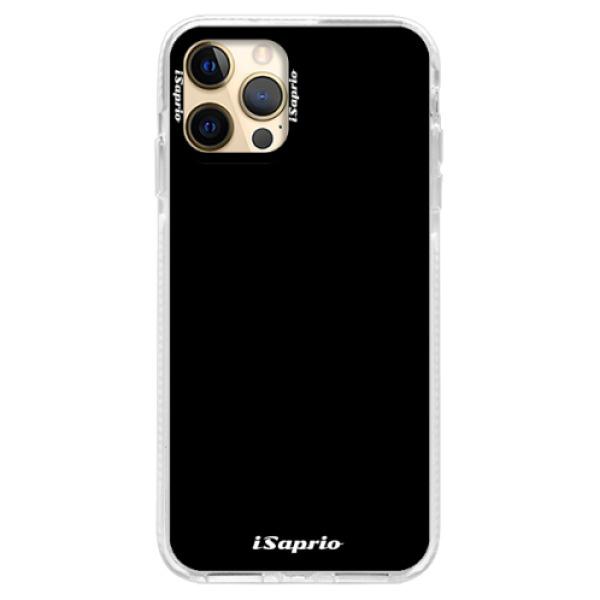 Silikonové pouzdro Bumper iSaprio - 4Pure - černý - iPhone 12 Pro