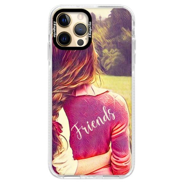 Silikonové pouzdro Bumper iSaprio - BF Friends - iPhone 12 Pro