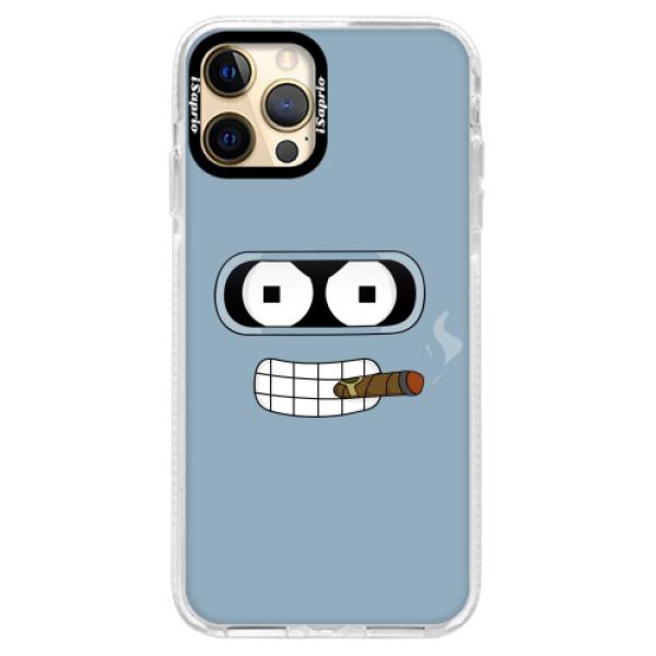 Silikonové pouzdro Bumper iSaprio - Bender - iPhone 12 Pro