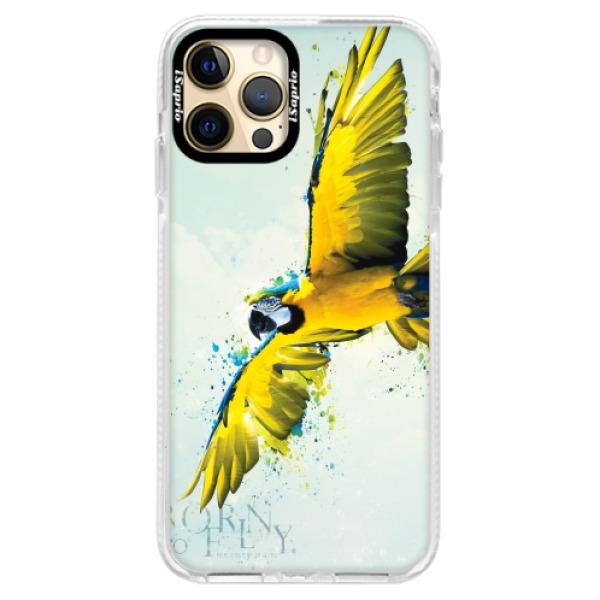 Silikonové pouzdro Bumper iSaprio - Born to Fly - iPhone 12 Pro