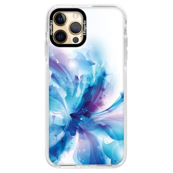 Silikonové pouzdro Bumper iSaprio - Abstract Flower - iPhone 12 Pro