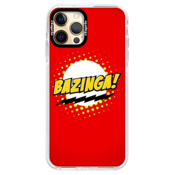 Silikonové pouzdro Bumper iSaprio - Bazinga 01 - iPhone 12 Pro Max
