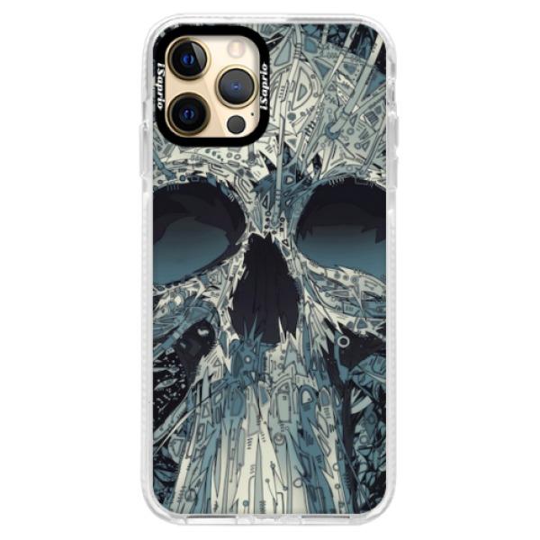 Silikonové pouzdro Bumper iSaprio - Abstract Skull - iPhone 12 Pro Max