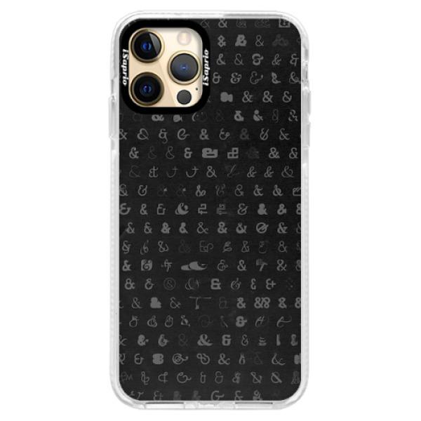 Silikonové pouzdro Bumper iSaprio - Ampersand 01 - iPhone 12 Pro Max