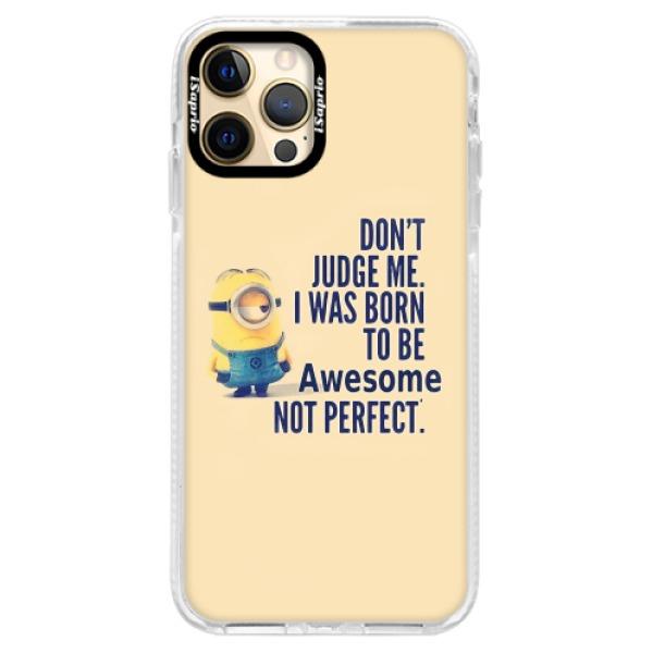 Silikonové pouzdro Bumper iSaprio - Be Awesome - iPhone 12 Pro Max