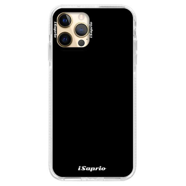 Silikonové pouzdro Bumper iSaprio - 4Pure - černý - iPhone 12 Pro Max